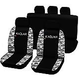 Lupex Shop kadjar _ N. Mch Housses de siège auto, noir/camouflage clair