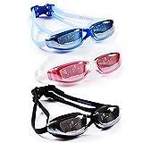 Binwo Taucherbrille, Schwimmbrille mit Antibeschlag UV Schutz für einen guten...