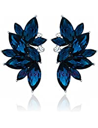 Valentine Gifts : YouBella Fashion Jewellery Stylish Fancy Party Wear Earrings for Girls and Women