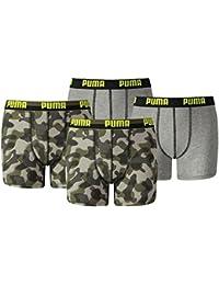 Puma Jungen Boxershort KIDS Limited Black Edition 4er Pack