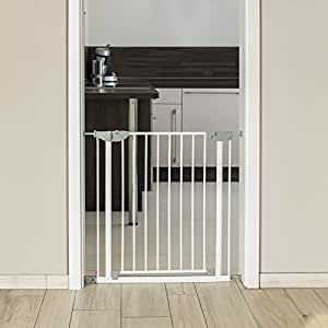 reer t rgitter und treppengitter basic zum klemmen baby. Black Bedroom Furniture Sets. Home Design Ideas