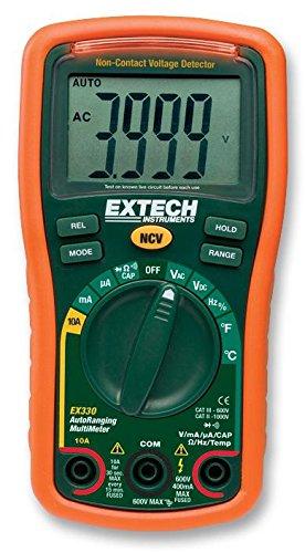 EXTECH INSTRUMENTS EX330 multímetro con objetos + V [] (epítome certificado) 1