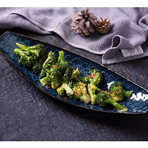 Li piccolo piatto- ceramica di alta qualità, per cucina e ristorante, 14 piatti da 16 pollici, 2018 nuovo design tableware (dimensioni : m)