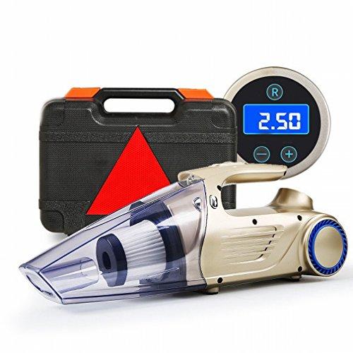 XC Pumpe aufblasbar Auto der Pumpe der Pumpe 12V Ladegerät-Ladekabel die hohe Druck des Reifens gold