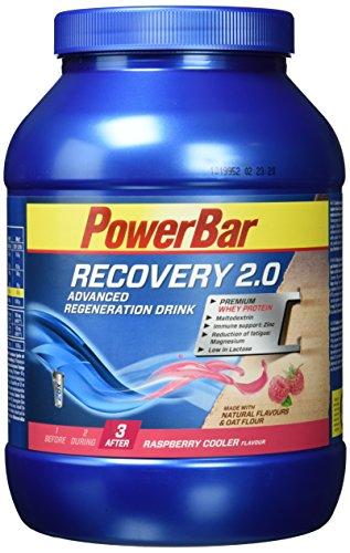 PowerBar Regeneration Drink mit Whey & Kohlenhydrate – Protein-Pulver mit Hafermehl, Vitamine, Zink und Magnesium – Raspberry Cooler (1 x 1,144kg)
