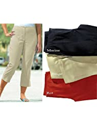 adonia mode Komfortable 7/8 Stretchhose Basic Hose , Gr. 44 - 60