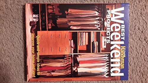 Best Weekend Projects The Family Handyman by Reader's Digest (2008-08-01)