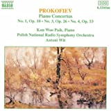 Prokofiev : Concertos pour piano n° 1, n° 3 et n° 4