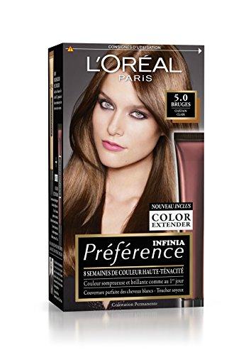 Préférence L'Oréal Paris Coloration Permanente 5.0 Châtain Clair