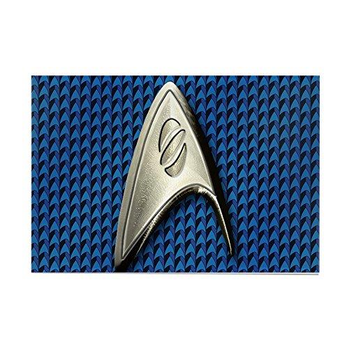 CafePress, Star Trek, Blau –, mit Magnet, Wissenschaft, 2X3-Kühlschrank-Magnet (Mit Schiebetüren Kühlschrank 2)