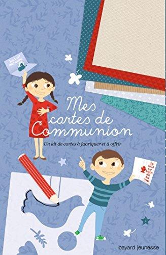 MES CARTES DE COMMUNION