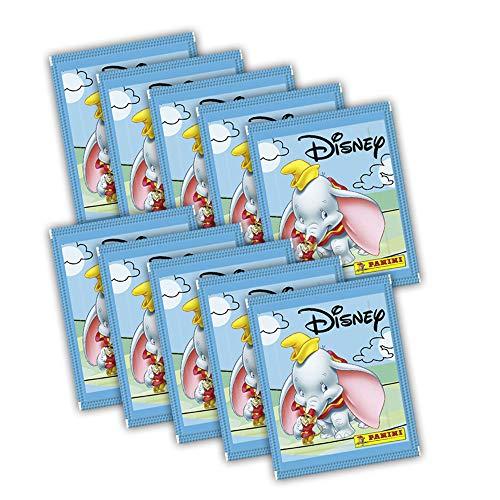Panini Disney Mix Sammelsticker - 10x Booster (50 Sticker)
