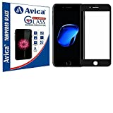 #6: AVICA™ Full Edge To Edge Cover BLACK 3D Curved Tempered Glass Screen Protector For Apple iphone 7 Plus