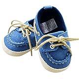 Blue Vessel Kleinkind erste Wanderer Cotton Schuhe Infant Sneaker weiche Unterseite Babyschuhe (13cm )