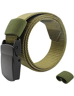 Giancomics Unisex verstellbar Military Tactical Gürtel Herren Gürtel hypoallergen automatische Schnalle Gürtel...