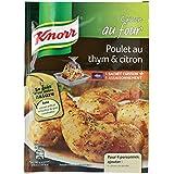 Knorr Sachet Cuisson Poulet au Thym et Citron 20 g