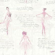 Arthouse 668200con giro de papel pintado, rosa, 53cm x 10,05M