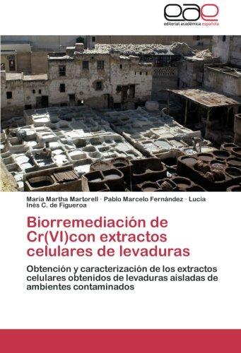 Biorremediacion de Cr(vi)Con Extractos Celulares de Levaduras por Martorell Maria Martha