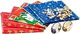 infactory Geschenk-Papier: 14-teiliges Geschenkverpackungs-Set