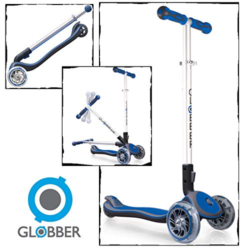 Globber My Free 3, Monopattino Unisex-Adulto, Blu, Taglia Unica