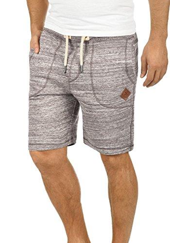 !Solid Aris Herren Sweatshorts Kurze Hose Jogginghose Mit Melierung Und Kordel Regular Fit, Größe:3XL, Farbe:Coffee Bean (5973)
