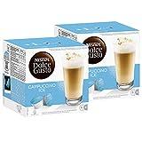 Nescafé Dolce Gusto Cappuccino Ice, Kaffee, Eiskaffee, Kaffeekapsel, 2er Pack, 2 x 16 Kapseln (16 Portionen)
