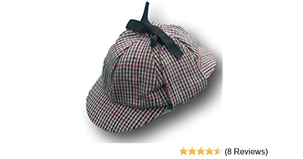 74bfd9d234e Traditional Deer Stalker Hat - New - Sz 61cm  Amazon.co.uk  Clothing