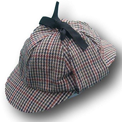 Thorness Traditional Deer Stalker Hat - New - Sz 61cm