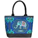 VON LILIENFELD Tasche Damen Henkeltasche Shopper Bedruckt Motiv Kunst Elefant Eva Maria Nitsche:...