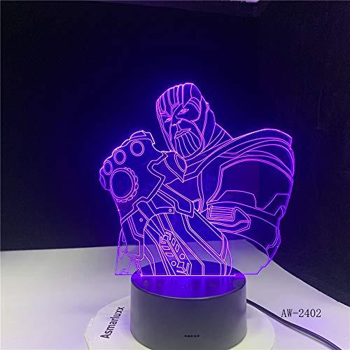 Bestaunen Sie Die Avengers Big Villain 7 Farbwechsel Nachtlicht Baby Schlaf Lampe Home Decor Boy Kid Geschenk