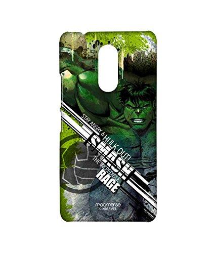 Macmerise Licensed Marvel Comics Hulk Premium Printed Back cover Case for Lenovo K6 Note