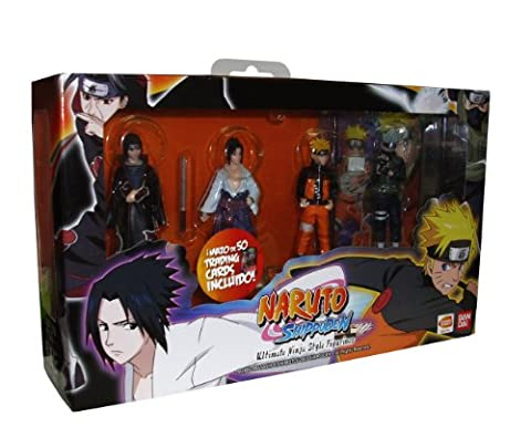 Set de 4 Figurine 'Naruto Shippuden : ultimate Ninja style'