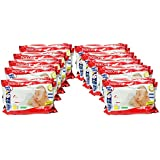 Pigeon Baby Wipes Chamomile (80 Sheets, Pack Of 10) - 800 Sheets
