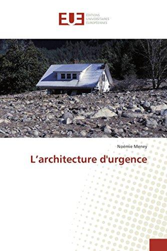 L'architecture durgence