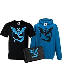 Bullshirt 's Kid 's Team Mystic T-Shirt, Hoodie und Geldbörse Set