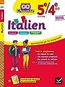 Italien 5e/4e - LV2 : cahier d'entraînement et de révision par Pillet