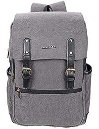 3786f4c9bac4 Killer Ripon Trendy Stylish Waterproof Dark Grey Canvas Casual Laptop  Backpack