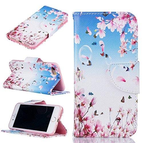 """iPhone 7 Coque, ONLY pour 4.7"""" iPhone 7 Housse - MYTHOLLOGY avec Support Housse PU Cuir Étui à rabat Portefeuille Antichoc Cover - THD LHDI"""