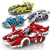 Yyz Rennserie Berühmte Auto kleine Partikel Mobilisierung Racing Kinder Junge Puzzle DIY Baustein Spielzeug Geburtstagsgeschenk