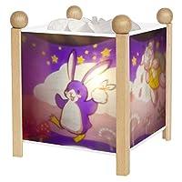 Trousselier 4399GB 12V Magic Lantern Bunny Penguin Night Lamp