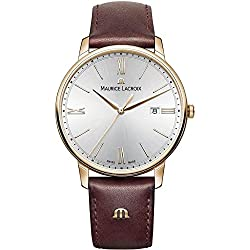 Maurice Lacroix Eliros EL1118-PVP01-111-1 Mens Wristwatch Flat & light