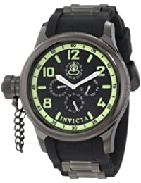 Invicta Russian Diver Men's Analogue Classic Quartz Watch with Polyurethane Strap – 1805