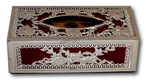 auto car winner silver-red tissue box/dispenser for car,home & office AUTO CAR WINNER Silver-Red Tissue Box/Dispenser for Car,Home & Office 51IMymqOT4L