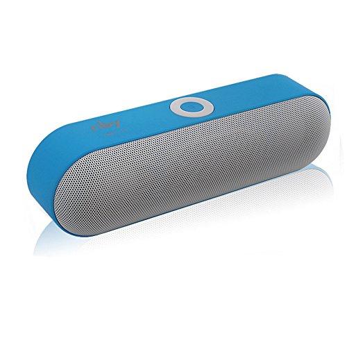 OPAKY Tragbarer drahtloser Bluetooth Lautsprecher 3D Stereo Super Bass Lautsprecher Sound System für iPhone, Samsung usw.