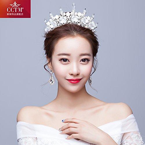 Brautkleider braut DIADEM - koreanische kopfbedeckung große krone hochzeits - accessoires für...