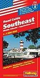 Hallwag USA Road Guide, No.8, Southeast (USA Road Guides) - Rand McNally and Company