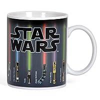Star Wars tazza effetto termico con cambio motivo spada laser in ceramica 300ml