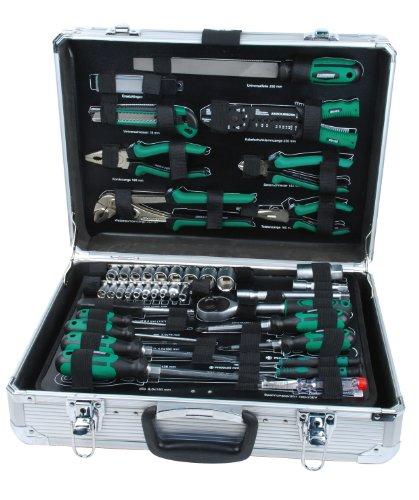 Preisvergleich Produktbild Brüder Mannesmann Alu-Werkzeugkoffer, bestückt, 108-tlg., M29075