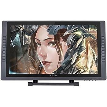 XP-Pen Tavoletta Grafica Monitor IPS Artist22E Artist22 Artist16 et Télécommande de Raccourics (Artist22E)