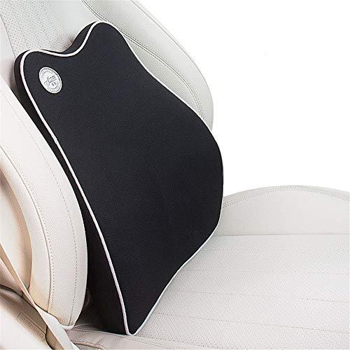 Wuxingqing Lendenkissen zur Unterstützung Travel Easy Car Pillow Kit für Sitzkissen Memory Lordosenstütze Rückenkissen & Kopfstütze Nackenschaum Erognomic Design Universal Fit für Auto-Heimbürostuhl Car-travel-kit